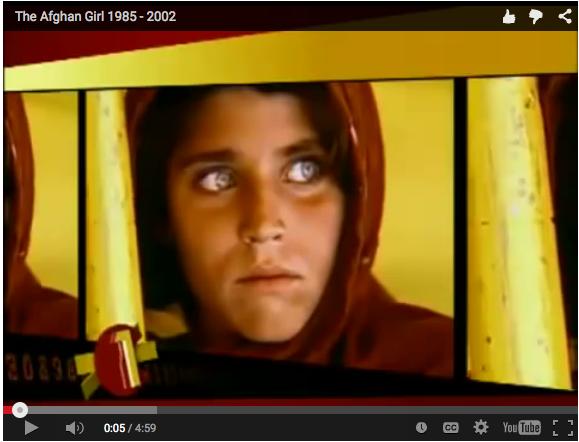 Listening_Afghan Girl